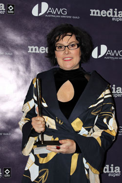 Alana Valentine at the AWGIE Awards