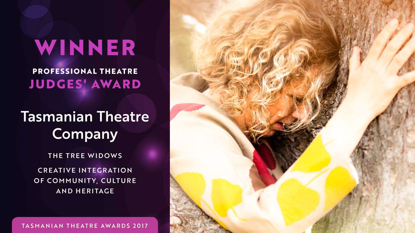 Tasmanian Theatre Awards 2017 - winner - judges award
